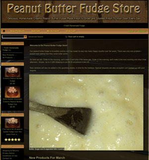 Peanut Butter Fudge Store