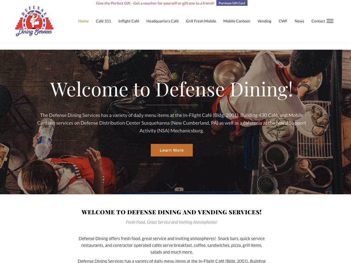 Defense Dining