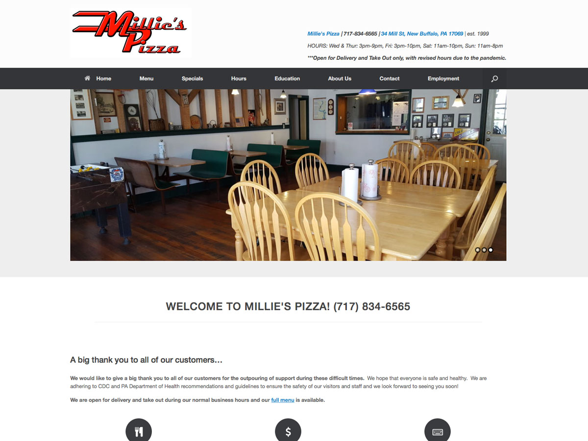 Millie's Pizza